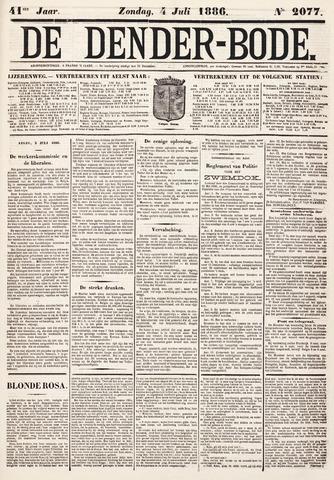 De Denderbode 1886-07-04