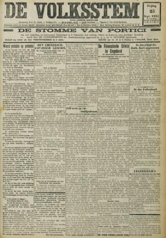 De Volksstem 1931-09-25