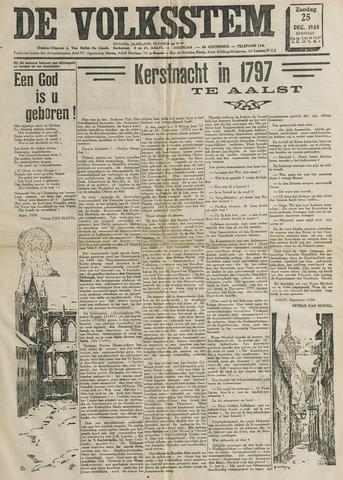 De Volksstem 1938-12-25