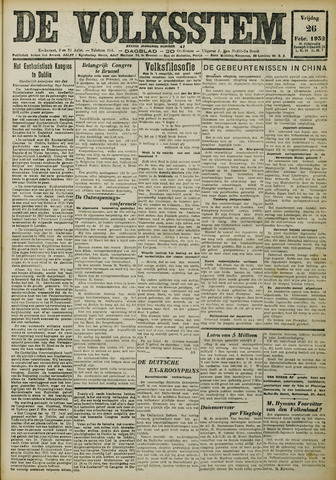 De Volksstem 1932-02-26