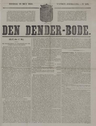 De Denderbode 1851-05-18
