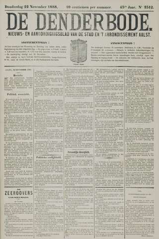 De Denderbode 1888-11-22