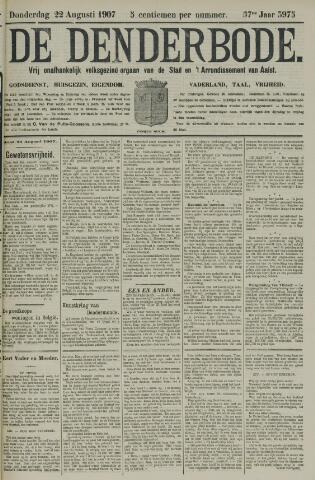 De Denderbode 1907-08-22