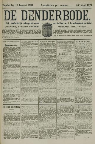 De Denderbode 1911-01-19