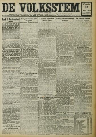 De Volksstem 1932-07-27