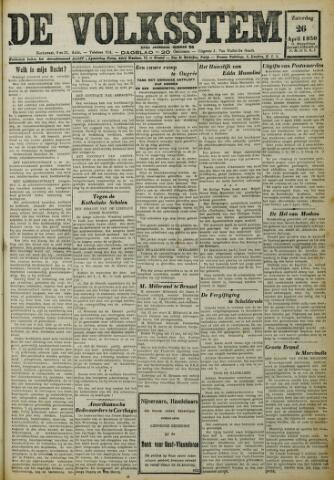 De Volksstem 1930-04-26