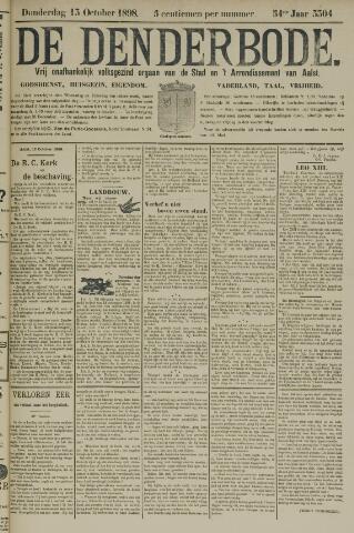 De Denderbode 1898-10-13