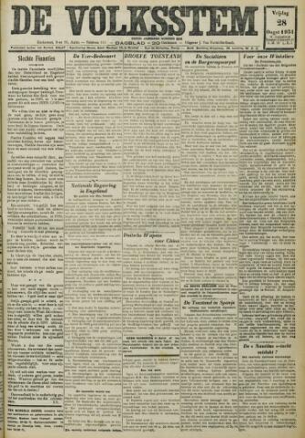 De Volksstem 1931-08-28