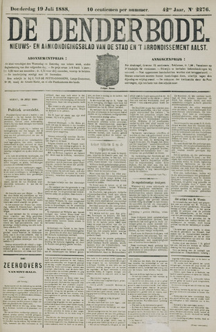 De Denderbode 1888-07-19