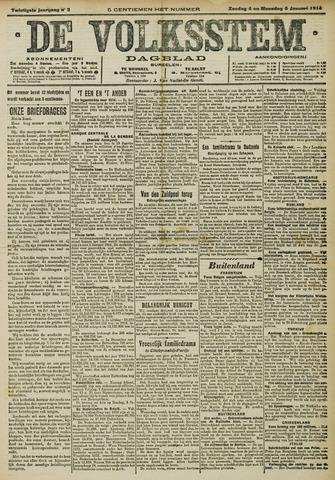 De Volksstem 1914-01-03
