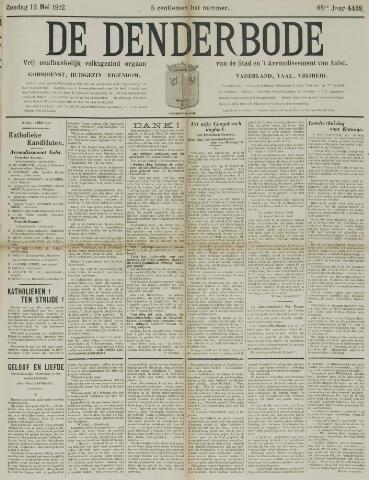 De Denderbode 1912-05-12