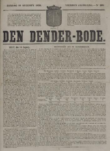 De Denderbode 1850-08-11