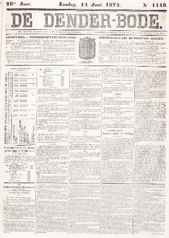 De Denderbode 1874-06-14