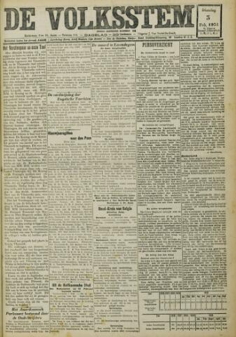 De Volksstem 1931-02-03