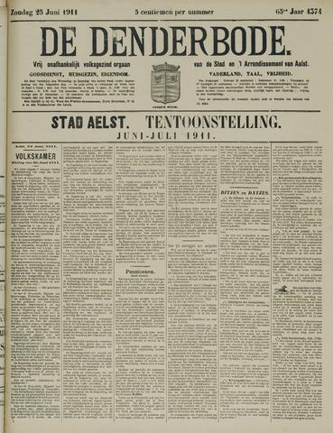 De Denderbode 1911-06-25