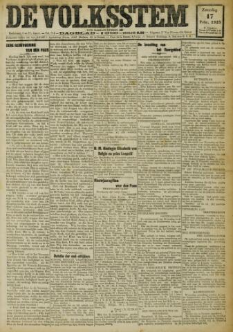 De Volksstem 1923-02-17