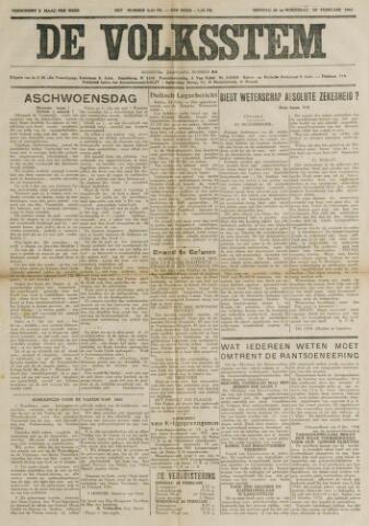 De Volksstem 1941-02-25