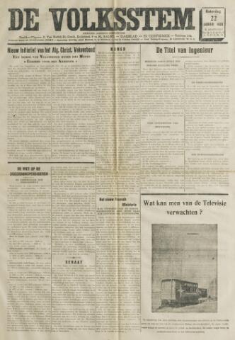 De Volksstem 1938-01-22