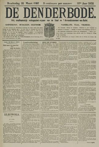 De Denderbode 1907-03-21
