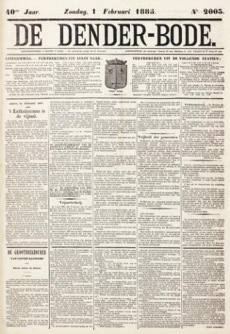 De Denderbode 1885-02-01