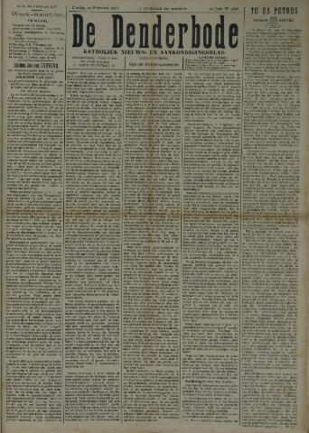 De Denderbode 1918-02-10