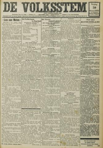 De Volksstem 1931-10-30