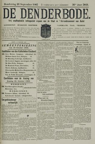 De Denderbode 1903-09-24