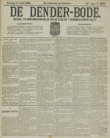 De Denderbode 1890-04-13