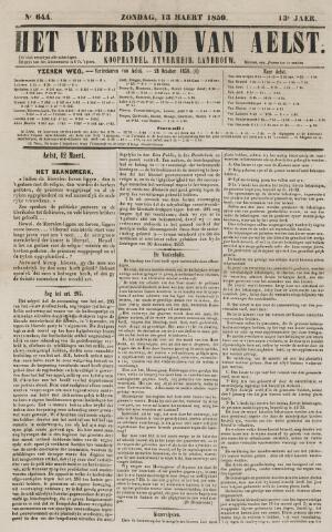 Het Verbond van Aelst 1859