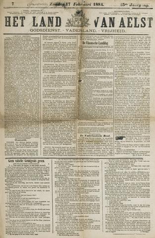 Het Land van Aelst 1884-02-17