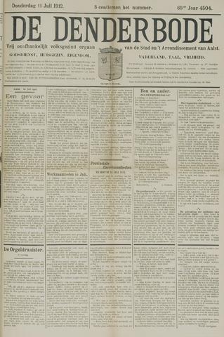 De Denderbode 1912-07-11