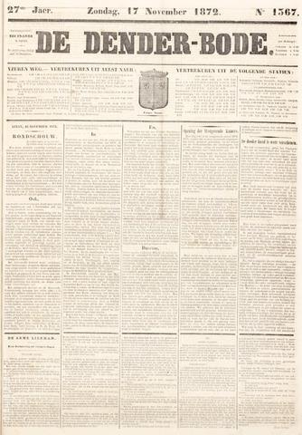 De Denderbode 1872-11-17