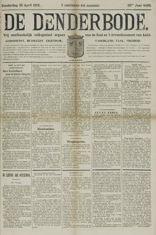 De Denderbode 1912-04-25