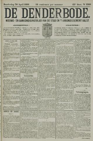 De Denderbode 1891-04-30