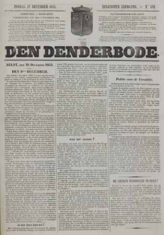 De Denderbode 1854-12-17