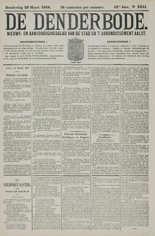 De Denderbode 1888-03-29