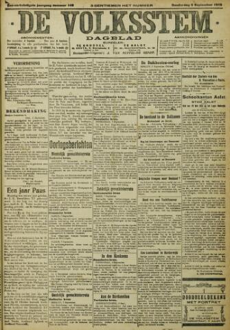 De Volksstem 1915-09-09