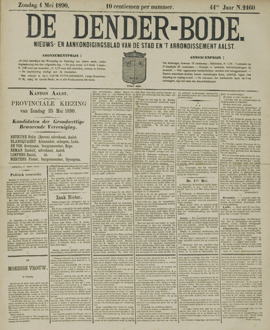 De Denderbode 1890-05-04