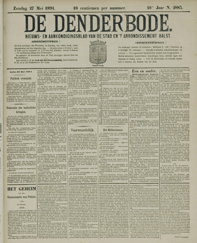 De Denderbode 1894-05-27