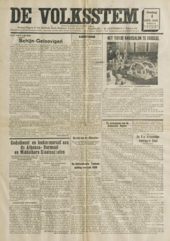 De Volksstem 1938-09-04