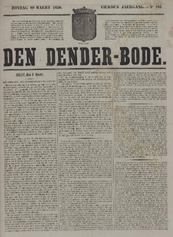 De Denderbode 1850-03-10