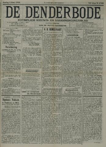 De Denderbode 1916-06-04