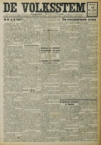 De Volksstem 1926-05-11