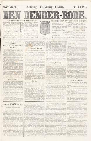 De Denderbode 1869-06-13