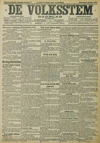 De Volksstem 1915-01-09