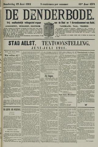 De Denderbode 1911-06-15