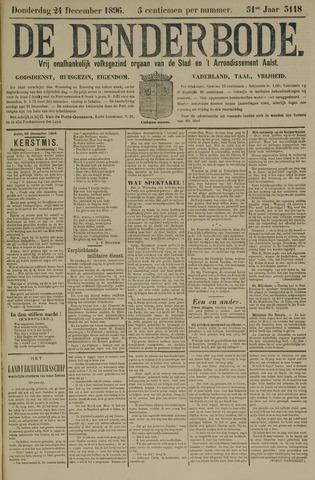 De Denderbode 1896-12-24