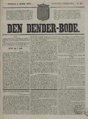 De Denderbode 1847-04-04