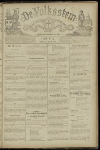 De Volksstem 1895-04-26