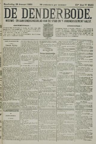 De Denderbode 1891-01-29